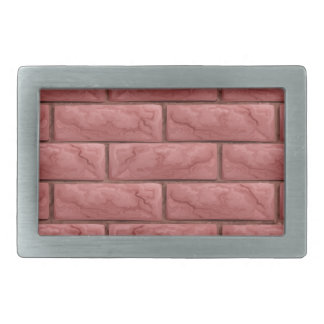 Brick Wall Texture Seamless Background Rectangular Belt Buckles