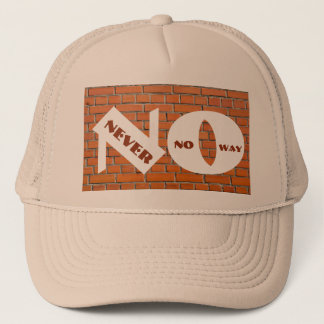 Brick Wall Trucker Hat