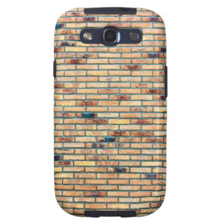 Brick wall with several colors galaxy SIII cover