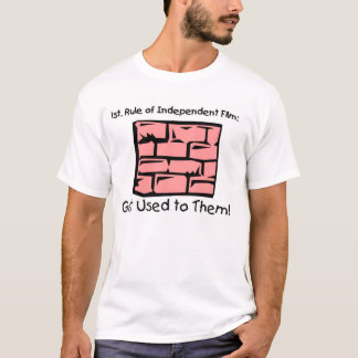 Brick Wall You Can Do It two side T-Shirt