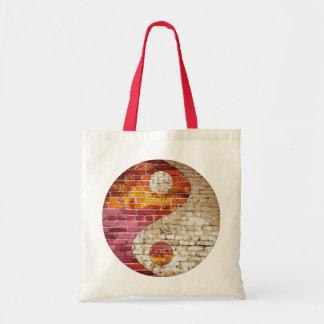 Brick Yin Yang Tote Bag