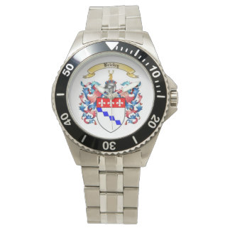 Brickey Family Crest Stainless Mens Watch