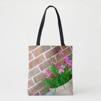 Bricks and Lilies Tote