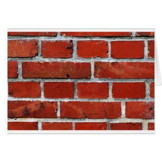 Bricks Card