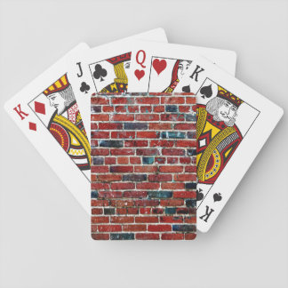 Bricks - Cool Fun Unique Playing Cards