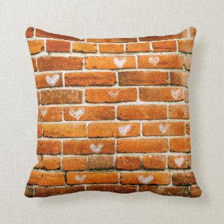 Bricks of  Bliss Throw Pillow