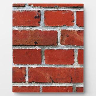Bricks Plaque
