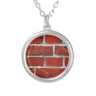 Bricks Silver Plated Necklace
