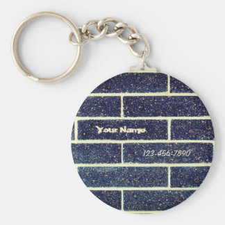 Bricks wall keychain