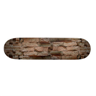 Bricks without mortar, used to construct Cham Towe Skate Deck