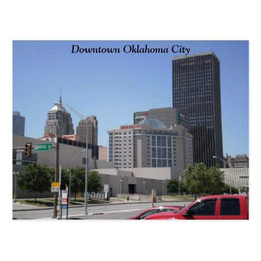 Bricktown - hôtels 011, Ville d'Oklahoma du centre Carte Postale