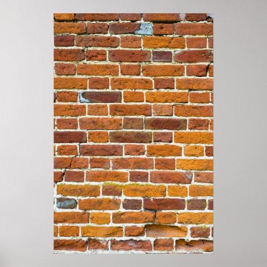 Brickwall Poster