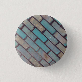 Brickwork badge 1 inch round button