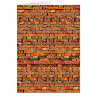Brickwork Card