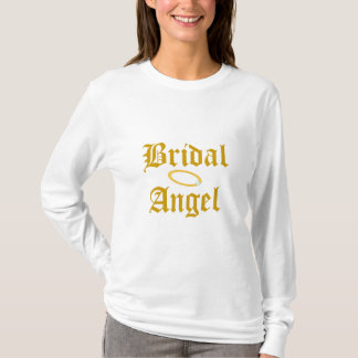Bridal Angel T-Shirt-Customize T-Shirt