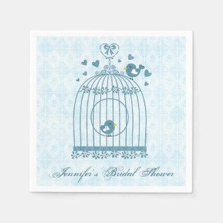 Bridal Bird Cage Paper Napkins