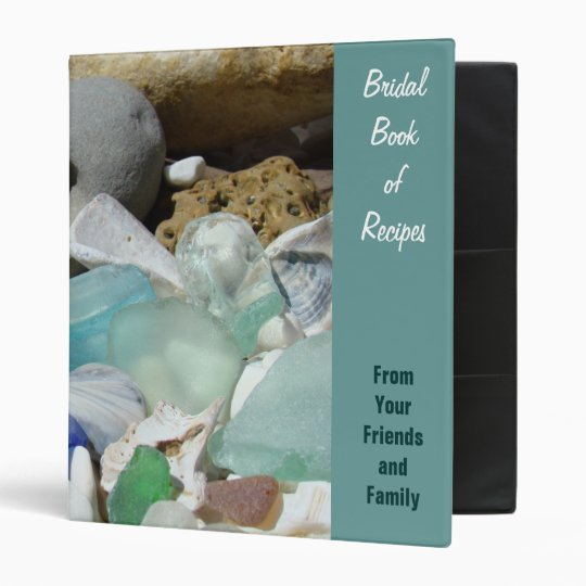 Bridal Book of Recipes From Family & Friends Bride 3 Ring Binders