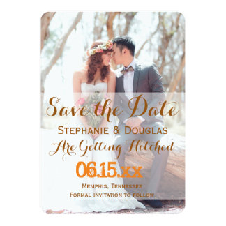 "Bridal Bouquet Red Flowers/Save The Date 5"" X 7"" Invitation Card"