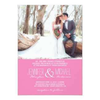 Bridal Bouquet Red Flowers/Wedding Invitation