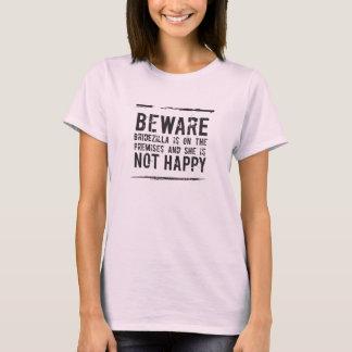 Bridal   Bridezilla is not Happy! T-Shirt