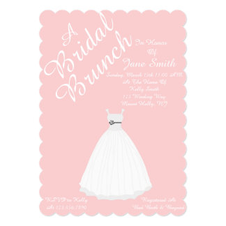 Bridal Brunch Card