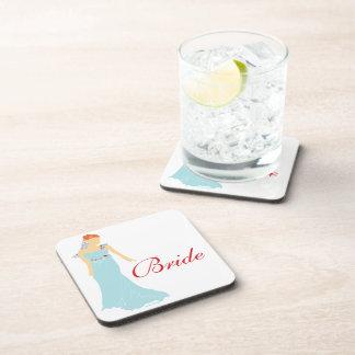 Bridal Drink Coaster