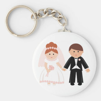 Bridal Couple Keychain