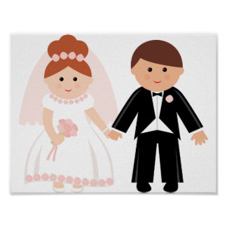 Bridal Couple Poster