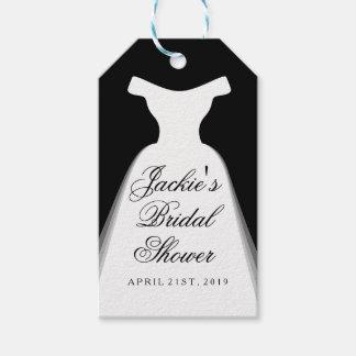 Bridal Dress Wedding Shower Gift Tags