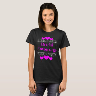 Bridal Entourage Heart Tee~Wisteria T-Shirt