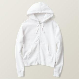 Bridal hoodie with oriental script