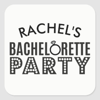 Bridal Party Custom Bachelorette Party Stickers