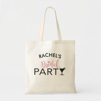 Bridal Party Custom Team Bride Cocktail Tote Gift