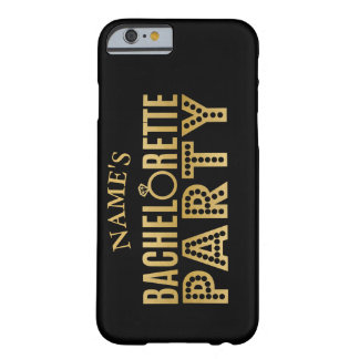 Bridal Party Gold Team Bachelorette Party Case