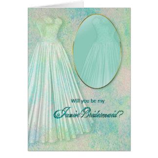 BRIDAL PARTY INVITATIONS -  JUNIOR BRIDESMAID