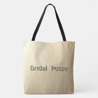 Bridal-Posse_Silvery -Gold*_II-Multi-Sz Tote Bag