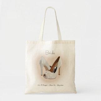 Bridal Shoe Bag Custom Tote