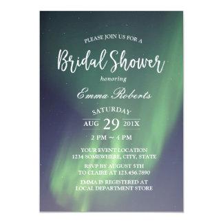 Bridal Shower Elegant Summer Night Aurora Card