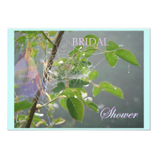 Bridal Shower Ethereal Flower Fairy Card