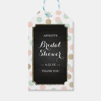 Bridal Shower Gift Tags - Polka Dots