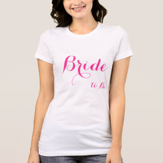 Bridal Shower Gifts - White Womens Jersey T-Shirts