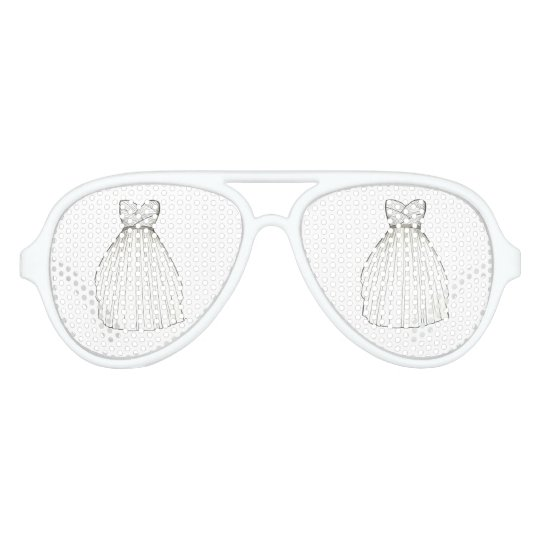 Bridal Shower Gown Bride White Wedding Dress Shade Party Shades