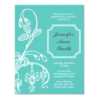 Bridal Shower Invitation - Bleeding Hearts