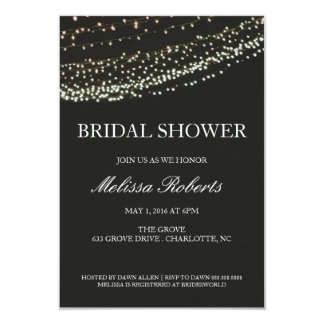 Bridal Shower Invitation | Lit Night