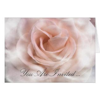 Bridal Shower Invitation Notecard