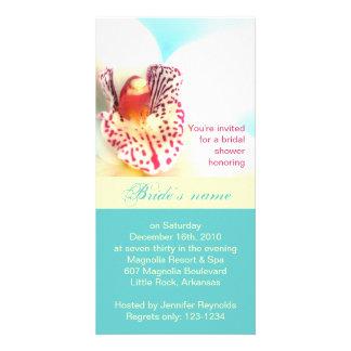 Bridal Shower Invitation Photo Card