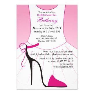 High Heel Shoes Bridal Shower Invites