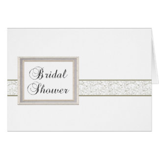 Bridal Shower Invitation Template Greeting Card