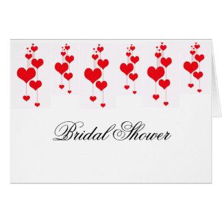 Bridal Shower Invitation Template Greeting Card
