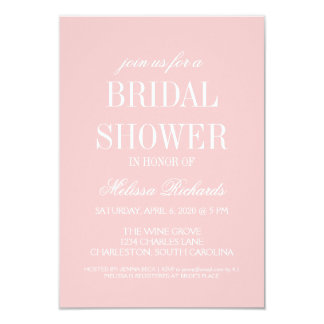 Bridal Shower Invite | Billboard